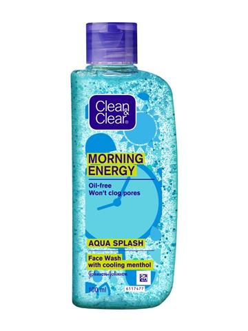 Clean & Clear Morning Energy Aqua Splash Face Wash  (100 ml)