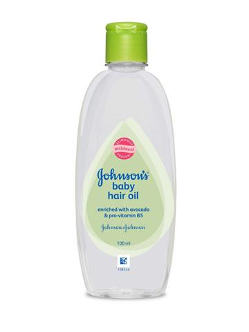 Johnson's Baby Hair Oil (100ml)