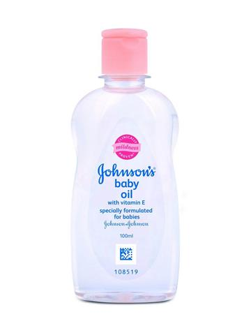 Johnson's Baby Oil with Vitamin E (100ml)