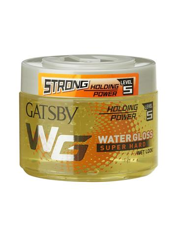 Gatsby Water Gloss Super Hard Level 5 , Yellow, 300g