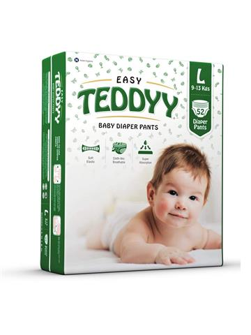 Teddyy Baby Easy Large (L) Diaper Pants (Pack of 52)