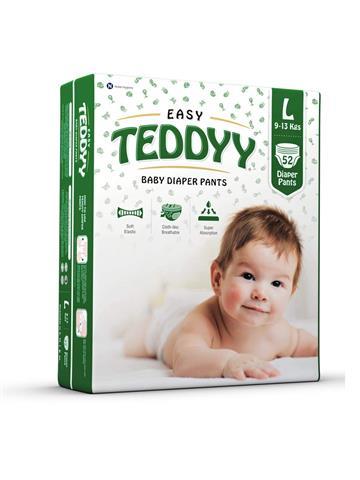 Teddyy Baby Easy Large (L) Diaper Pants (Pack of 52)
