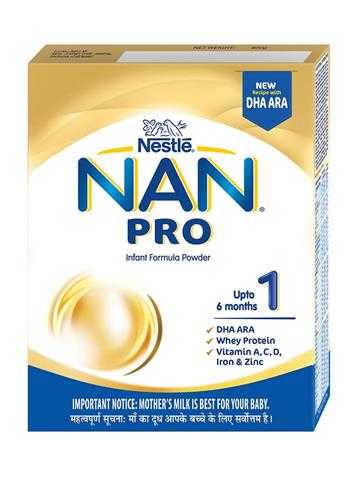 NAN 1 PRO Nestle 1 Infant Formula, Upto 6 months (400g)