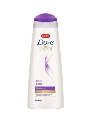 Dove Daily Shine Shampoo For Dull Hair (340ml)