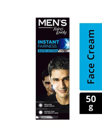 Men's Fair & Lovely Instant Brightness Raid Action Cream HD Glow 50g