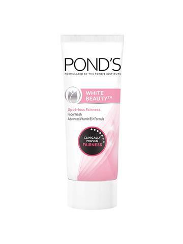 Ponds White Beauty Spot-less fairness face wash advanced vitamin B3+ Formulla (50g)