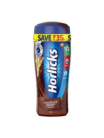 Horlicks Chocolate Delight 1kg with free classmate color fun