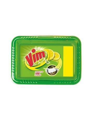 Vim Dishwash Bar Tub - 250 g with free Scrubber