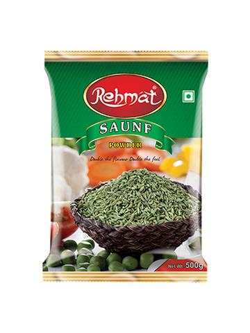 Rehmat saunf Powder Pouch Pack (500g)
