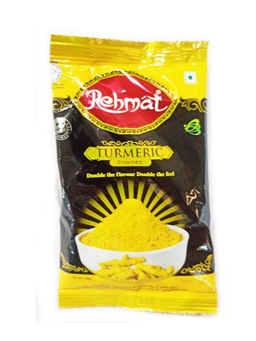 Rehmat Turmeric (Haldi) Powder Pouch Pack (100g)