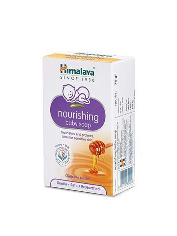 Himalaya Herbals Nourishing Baby Soap, 75g