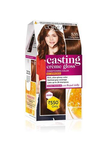 Loreal Paris Casting Creme Gloss  hair color 535
