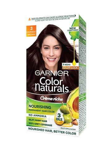 Garnier Women Darkest Brown Color Naturals Hair Color 3