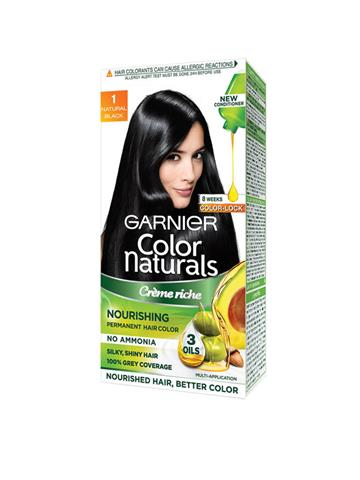 Garnier Color Naturals Crème Natural Black Hair Color