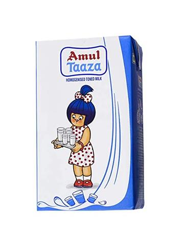 Amul Milk - Toned, 1000ml