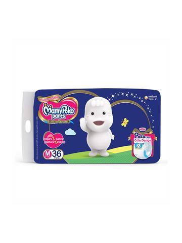 Mamy Poko Pants Extra Absorb Diaper M 36 Pants 7-12Kg