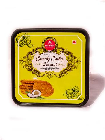 Hatrick Crunchy Cookies Coconut (500gm)