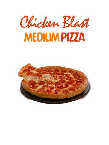 Chicken Blast Pizza - Pizzeria- Medium
