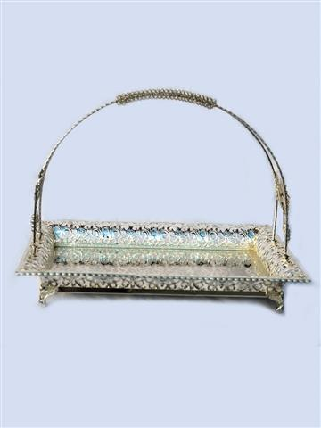 Decorative Rectangular Basket - Medium Size