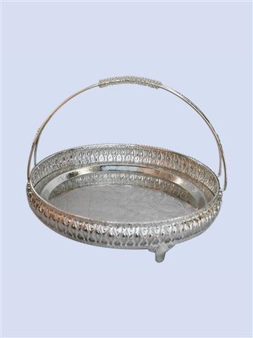 Decorative Round Basket Full Size