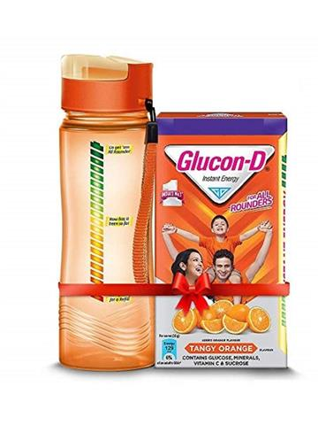 Glucon D Instant Energy Health Drink Tangy Orange - 1kg Refill