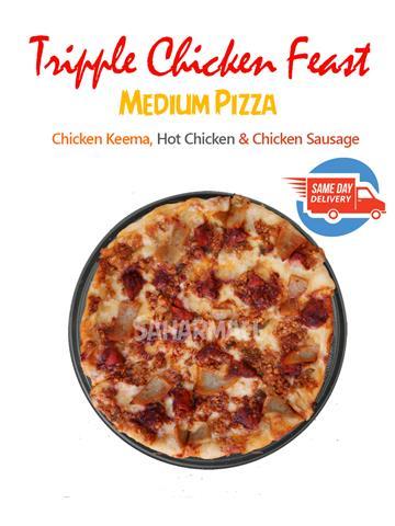 Tripple Chicken Feast - Etalian Pizza - Medium
