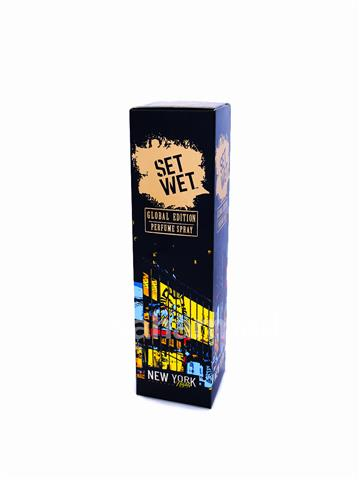 Set Wet Perfume Spray New York Nights (120ml)