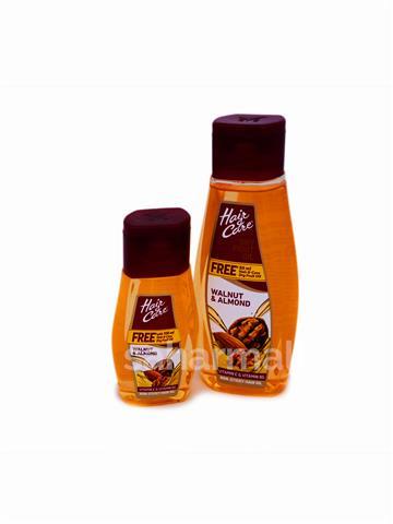 Hair & Care Walnut & Almond Non Sticky Hair Oil 100ml + 50ml free