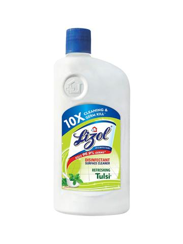 Lizol Disinfectant Surface & Floor Cleaner, Tulsi (500ml)