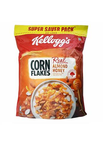 Kelloggs Corn Flakes with Real Almond Honey - Super Saver Pack - 1KG