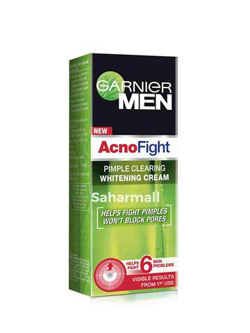 Garnier Men - Acno Fight Pimple Clearing Whitening Cream (45 g)