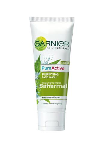 Garnier Skin Naturals Pure Active Neem Face Wash (50g)