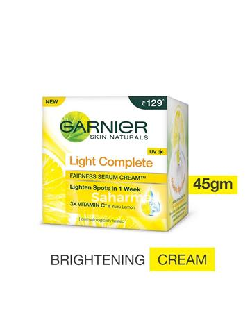 Garnier Light Complete Fairness Serum Cream  (45g)