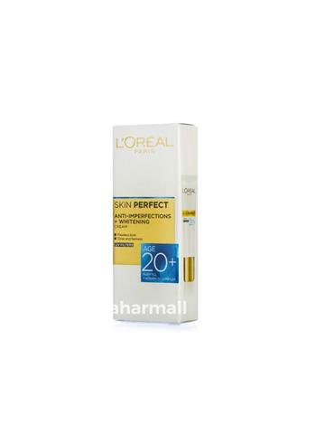 Loreal Paris Skin Perfect Anti Imperfections Age 20+ Whitening (18g)
