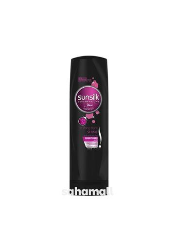 sunsilk stunning black shine conditioner (180ml)