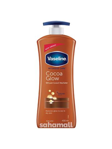 Vaseline Intensive Care Cocoa Glow Body Lotion (400 ml)