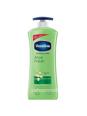Vaseline Intensive Care Aloe Fresh Body Lotion (400 ml)