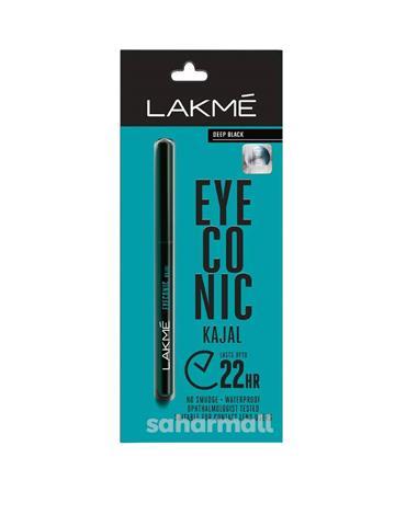 Lakme, Eyeconic Kajal, Deep Black, 0.35g
