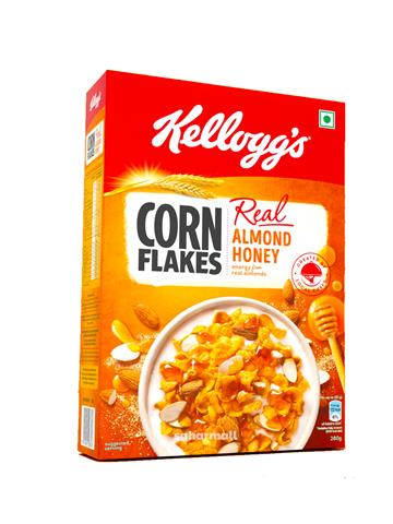 Kellogg's Corn Flakes with Real Almond Honey (300g)