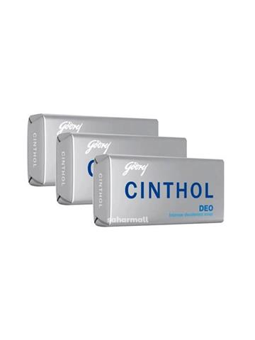 Cinthol Deo Soap,(Pack of 3) 100g x 3