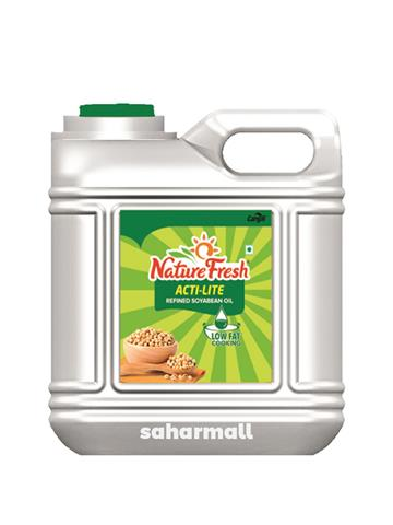 Nature Fresh Acti Lite Refined soyabean Oil 15lts