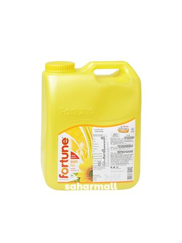 Fortune Sunlite Refined Sunflower Oil - 15 Ltr