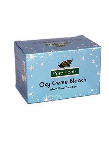 pure roots oxy creme bleach instant glow treatment (18g)