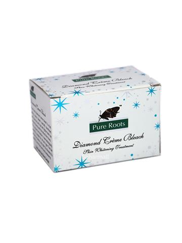 pure roots diamond creme skin whitening treatment (18g)