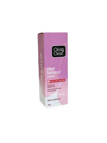 Johnson & Johnson clean & clear clear fairness cream (40g)