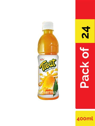 Priyagold Treat Mango Masti  400ml pack of 24