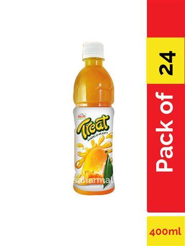 Priyagold Treat Mango Masti  400ml pack of 24