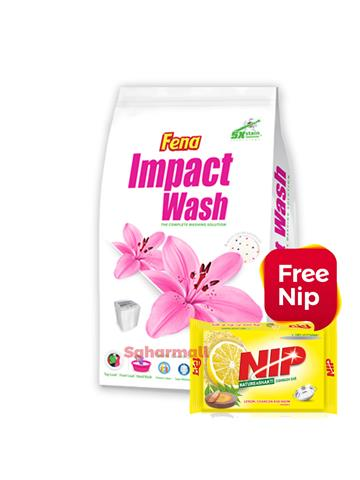Fena Impact Wash - 1 KG With Free NIP Bar 180g