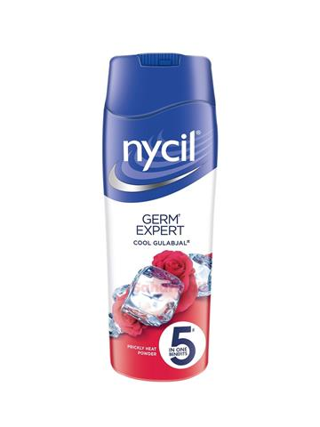 Nycil Cool Gulabjal Prickly Heat Talcum Powder - 75gm