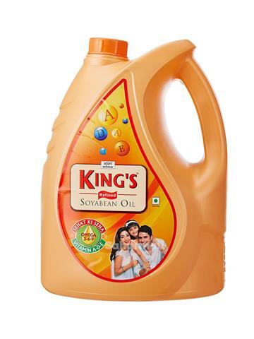 Kings Refined Soyabean Oil 5ltr